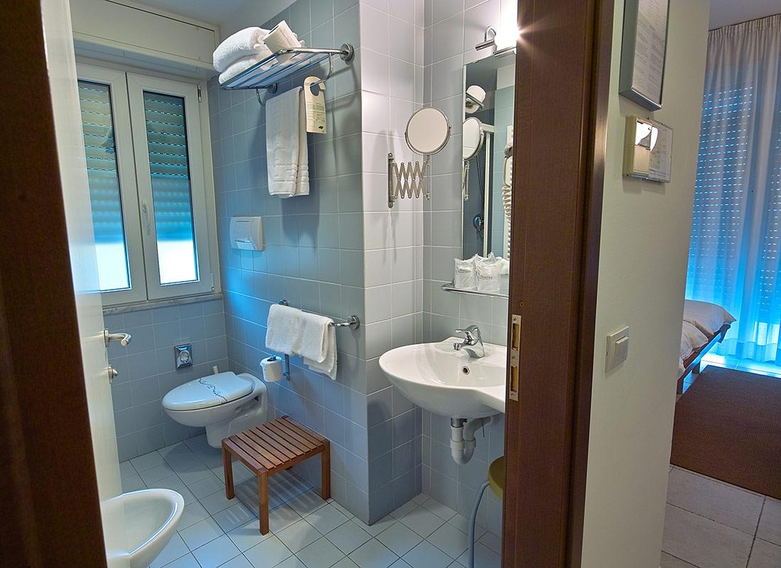 Bagno Camera Superior Hotel Approdo