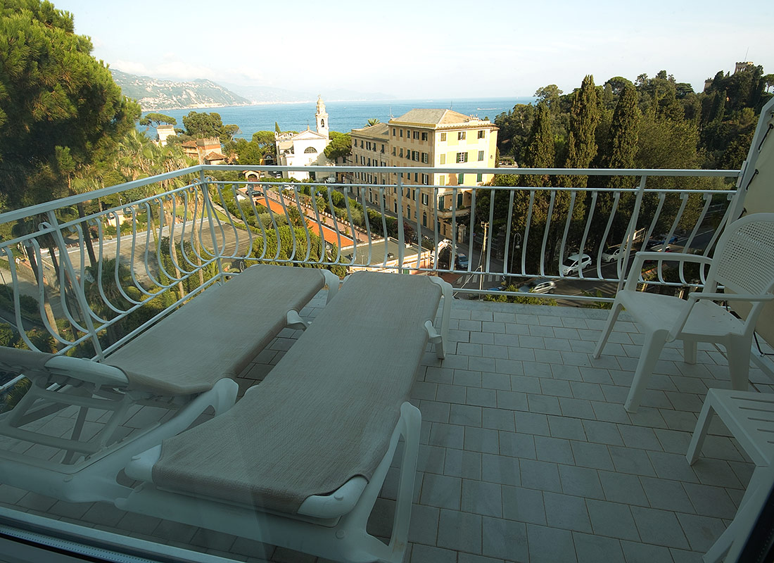 Balcone Camera Superior Hotel Approdo